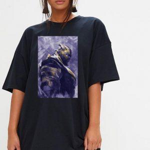 Marvel Avengers Endgame Thanos Painting shirt 2