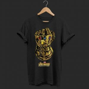 Marvel Avengers Infinity War Gauntlet Gems shirt