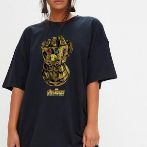 Marvel Avengers Infinity War Gauntlet Gems shirt 2