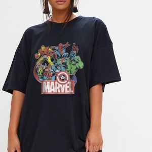 Marvel Avengers Team Retro Comic Vintage shirt 2