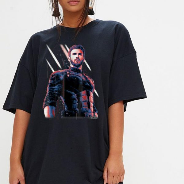 Marvel Infinity War Captain America shirt