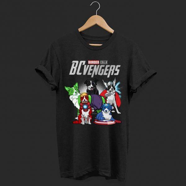 Marvel avenger Border Collie shirt