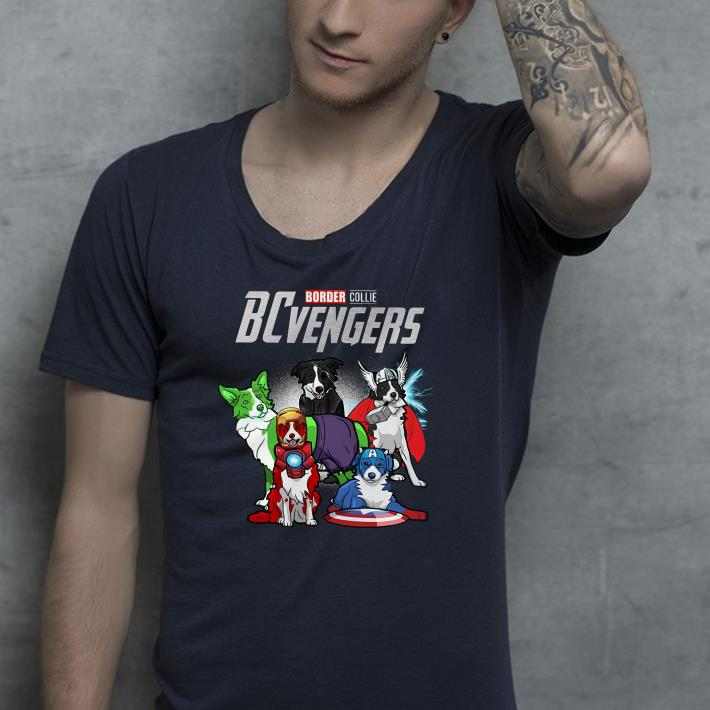 Marvel avenger Border Collie shirt 4 - Marvel avenger Border Collie shirt