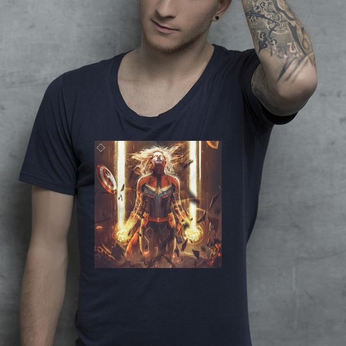 Marvel endgame power of captain marvel shirt 4 - Marvel endgame power of captain marvel shirt
