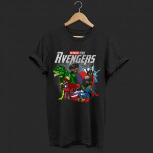 Marvel evenger Rottweiler shirt