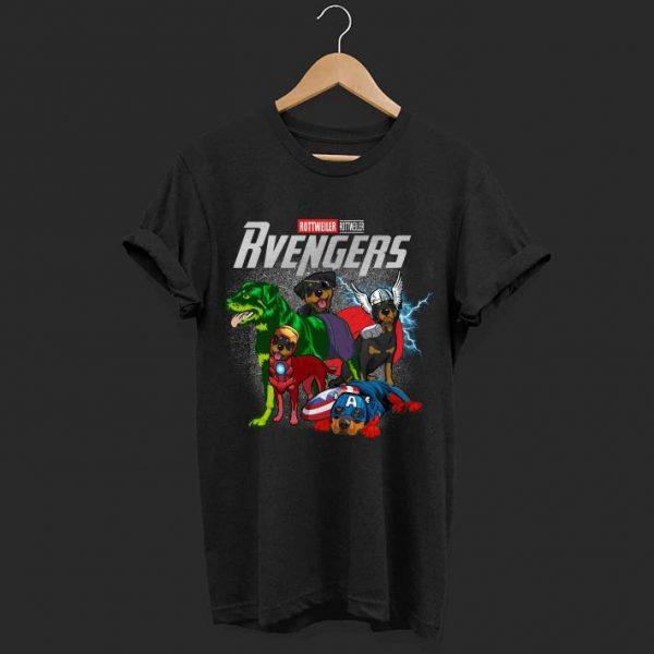 Marvel evenger Rottweiler shirt