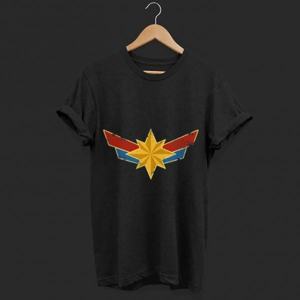 badge Captain marvel shirt