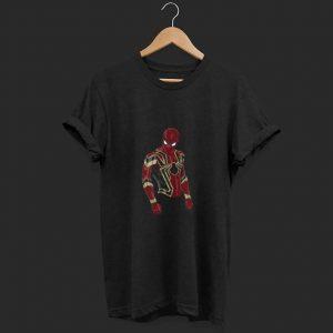 infinity iron spidey shirt