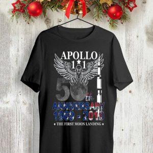 Apollo 11 50th Anniversary Moon Landing 1969-2019 shirt