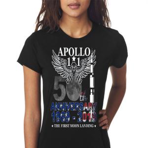 Apollo 11 50th Anniversary Moon Landing 1969-2019 shirt 2