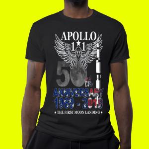Apollo 11 50th Anniversary Moon Landing 1969-2019 shirt 3
