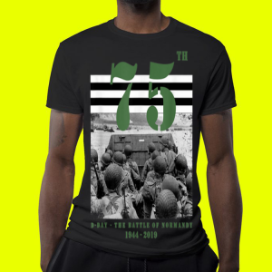 75 th anniversary D-Day The Battle Of Normandy 1944-2019 shirt 3