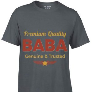 Baba Retro Rustic Grandpa Vintage Aviation Fathers Day shirt