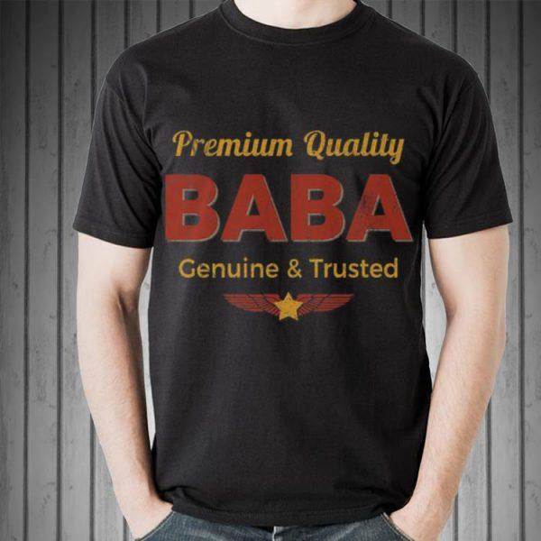 Baba Retro Rustic Grandpa Vintage Aviation Fathers Day shirt