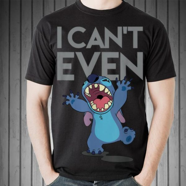 Disney Cant Even Lilo and Stitch shirt