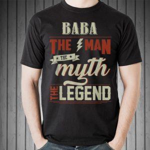 Fathers Day Grandpa Baba The Man Myth Legend shirt