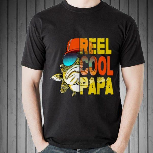 Fishing Reel Cool Papa Father's Day shirt