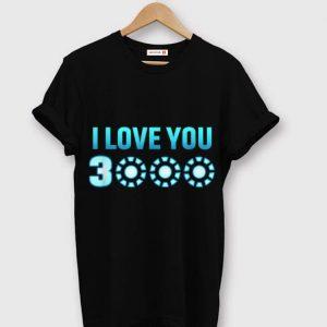 I Love You 3000 Arc reator Dad's Day Iron man shirt