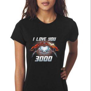 Iron man I Love you 3000 Infinity Guantlet shirt 2