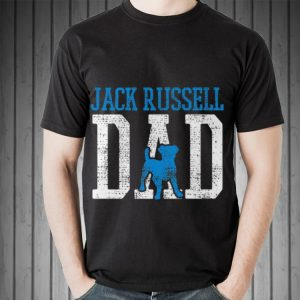 Jack Russell Daddy Father Dog shirt