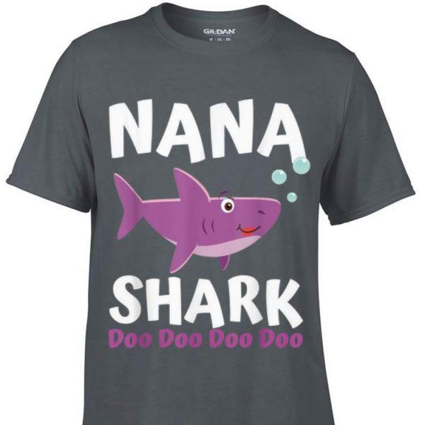 Mothers Day Nana Shark Doo Doo Doo shirt