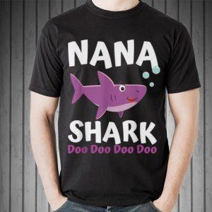 Mothers Day Nana Shark Doo Doo Doo shirt 1