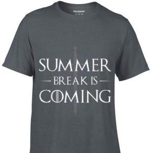 Summer Break is Coming Game Of Thrones Sword John Snow shirt