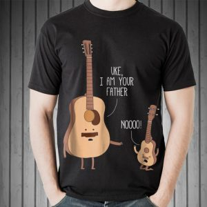 Uke I Am Your Father Guitar Music Daddy Day shirt