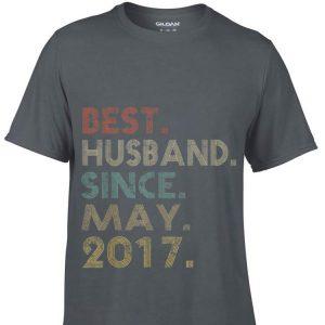 Wedding Anniversary Husband Since May 2017 shirt
