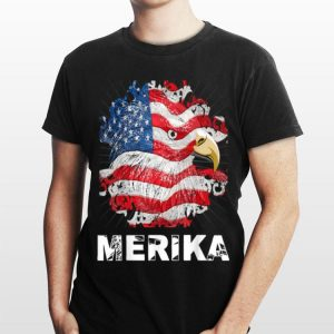 4th Of July Merica Bald Eagle shirt