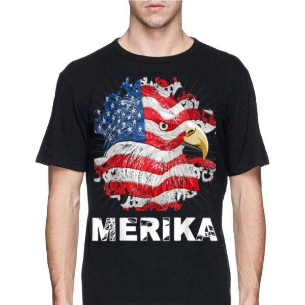 4th Of July Merica Bald Eagle shirt