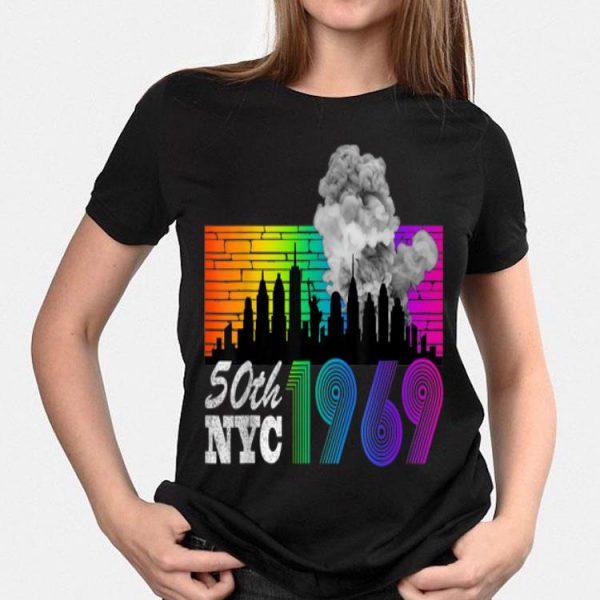 90's Style Stonewall Riots 50th Pride Lbgtq Rights Lgbt shirt
