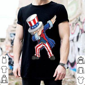 American Flag Dabbing Uncle Sam 4th Of July shirt