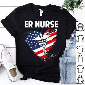 American Flag ER Nurse shirt