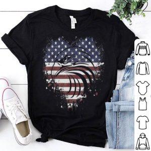 Bald Eagle Vintage American Flag Pride 4th of July shirt