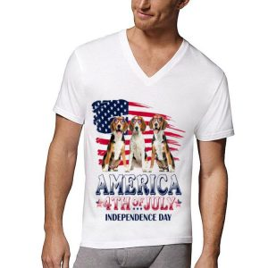 Beagle America 4th Of July Independence Day shirt