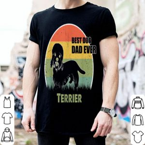 Best Dog Dad Ever Terrier Father Day 2019 shirt