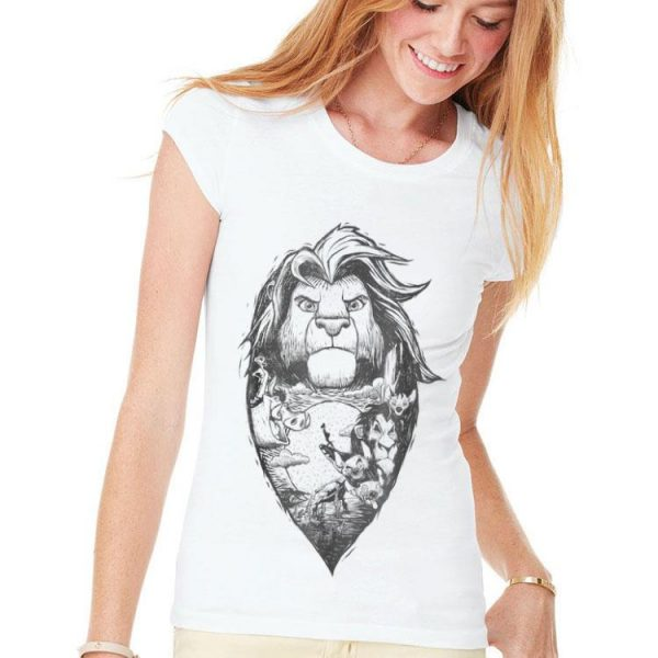 Disney Lion King Adult Simba Collage shirt