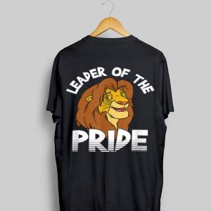 Disney Lion King Adult Simba Leader Of Pride shirt