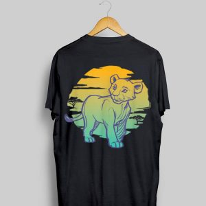 Disney Lion King Live Action Young Nala Ombre shirt