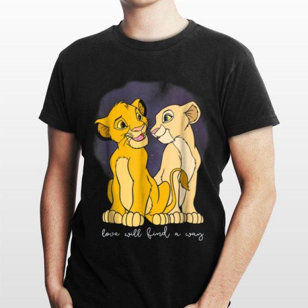 Disney Lion King Simba Nala Love Valentine's shirt
