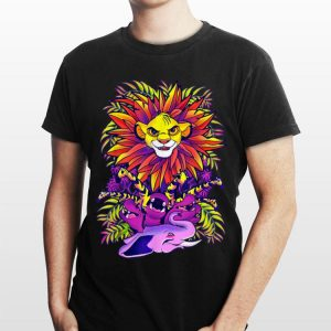 Disney Lion King Simba Ornate Color Pop Jungle Portrait shirt