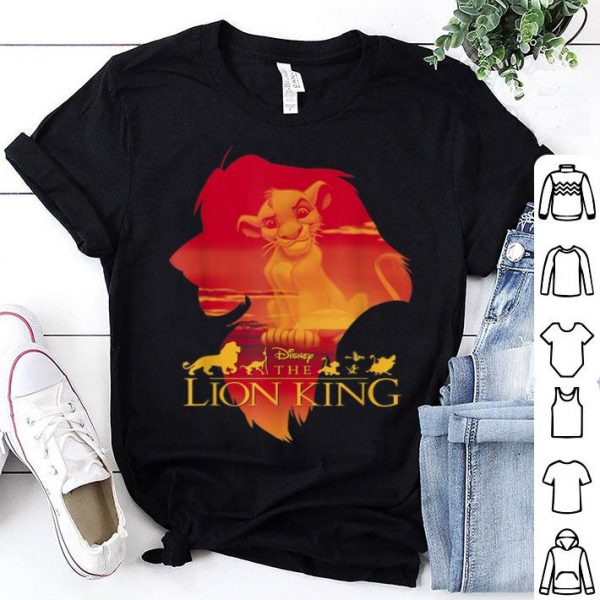 Disney Lion King Simba Silhouette Pride shirt