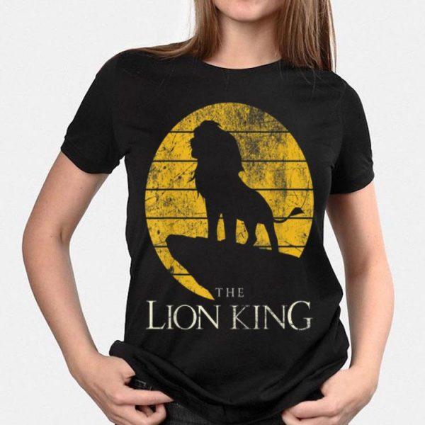 Disney Lion King Vintage Simba Pride Rock shirt