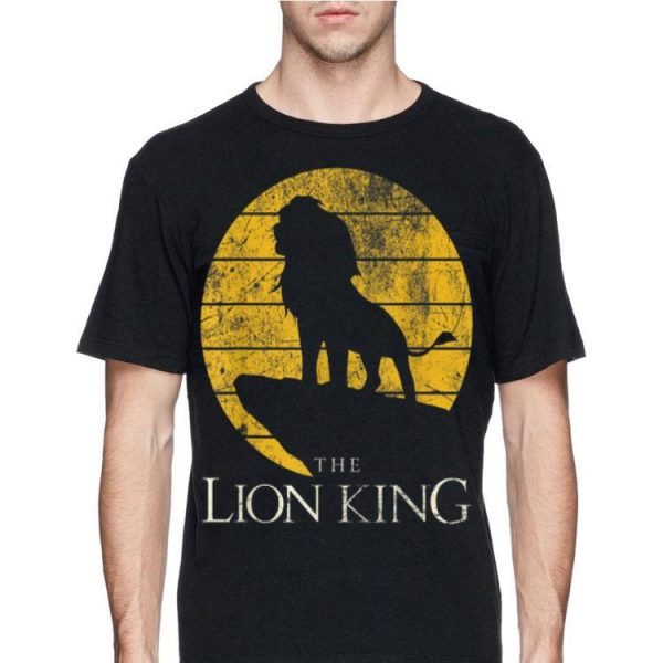 Disney Lion King Vintage Simba Pride Rock shirt
