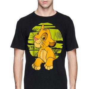 Disney The Lion King Young Simba Paws Green 90s shirt