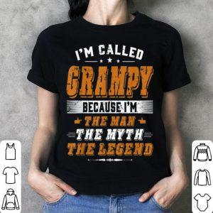 Father Day Grampy Because I Am Man Myth Legend shirt