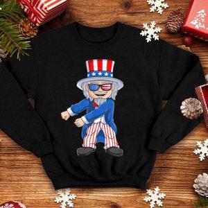 Floss Like a Boss Uncle Sam USA Flag Funny 4th Of July shirt