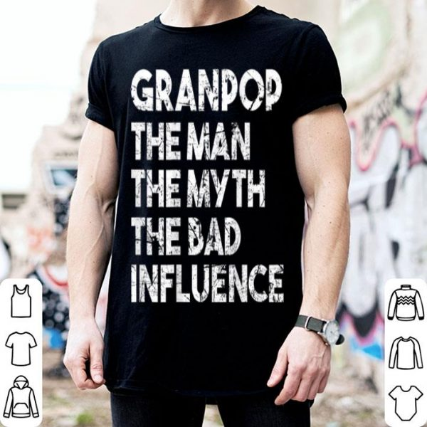 Granpop The Man The Myth Father Day Granpop shirt