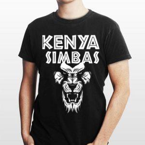 Kenya Simbas Rugby Fan shirt